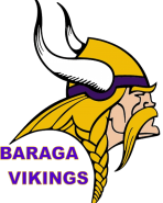 school logo of baraga area schools