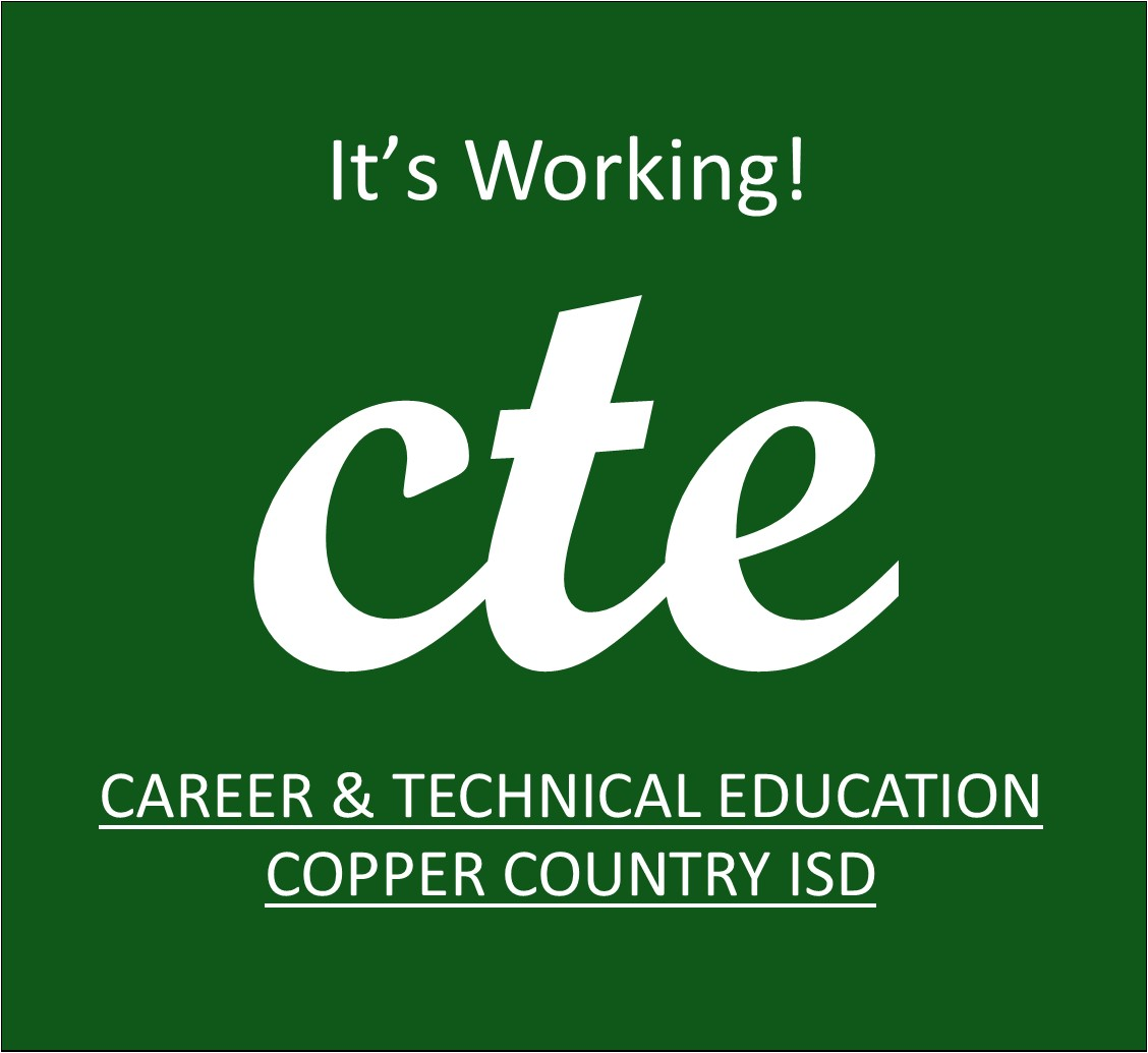 CTE, It's Working Logo!