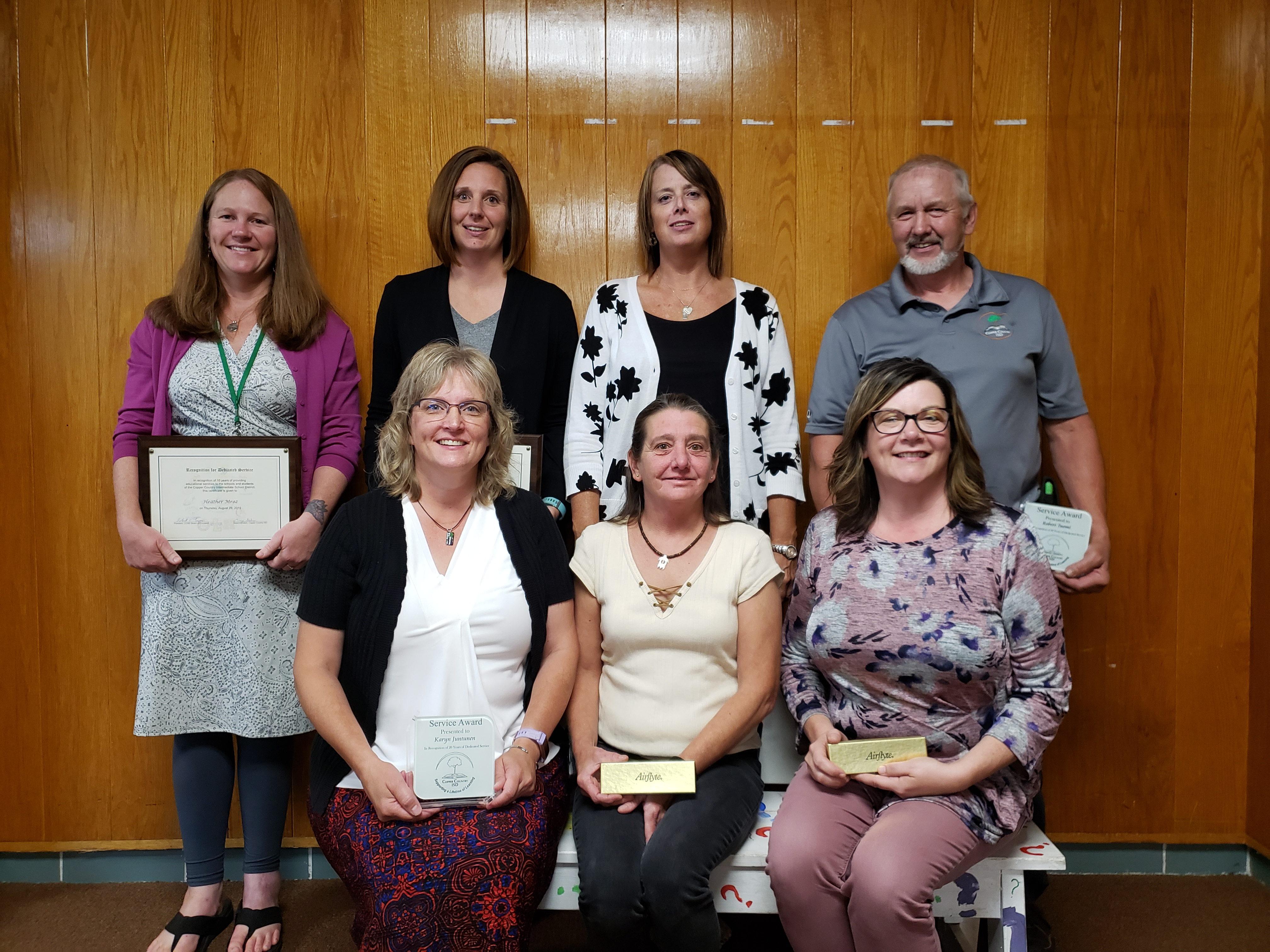 Employee Service Awards for 2019