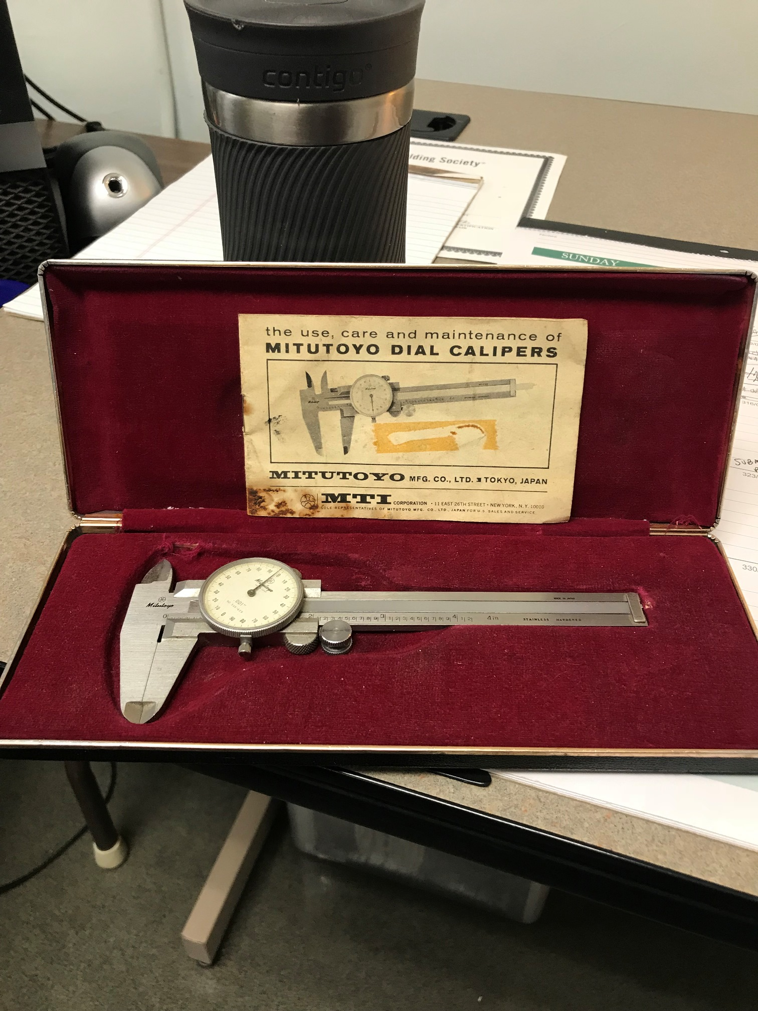 Dial Calipers, donated by Kurtti