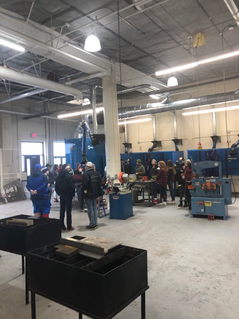 Welding shop open house